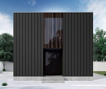 ホーマ|ガルバリウム|2階プラン 外観